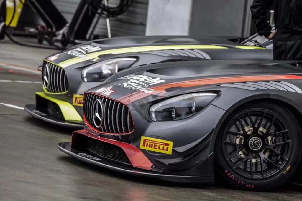 GruppeM Racing Mercedes AMG GT GT3