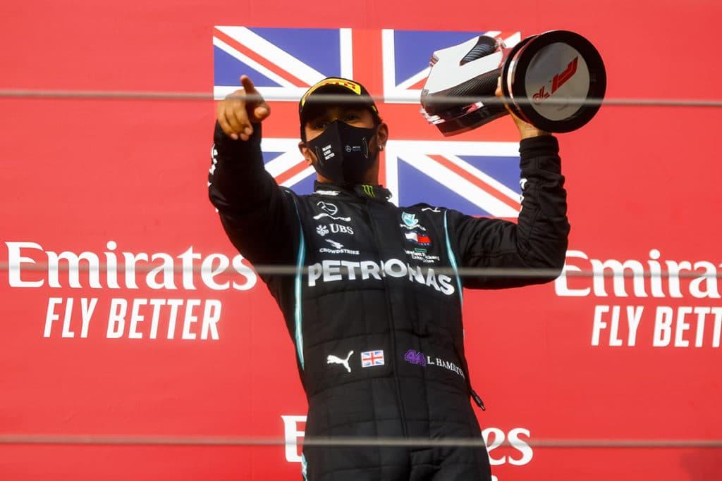 Lewis Hamilton steht vor seinem siebten Titel Credit: LAT/Mercedes