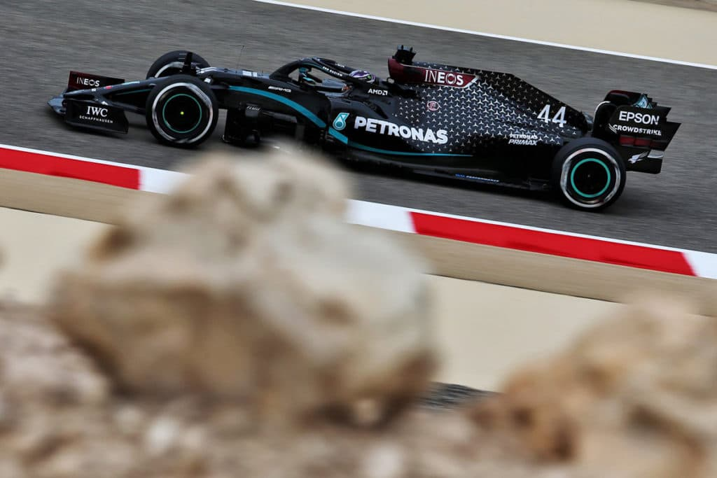 Lewis Hamilton Credit: Bahrain Int. Circuit