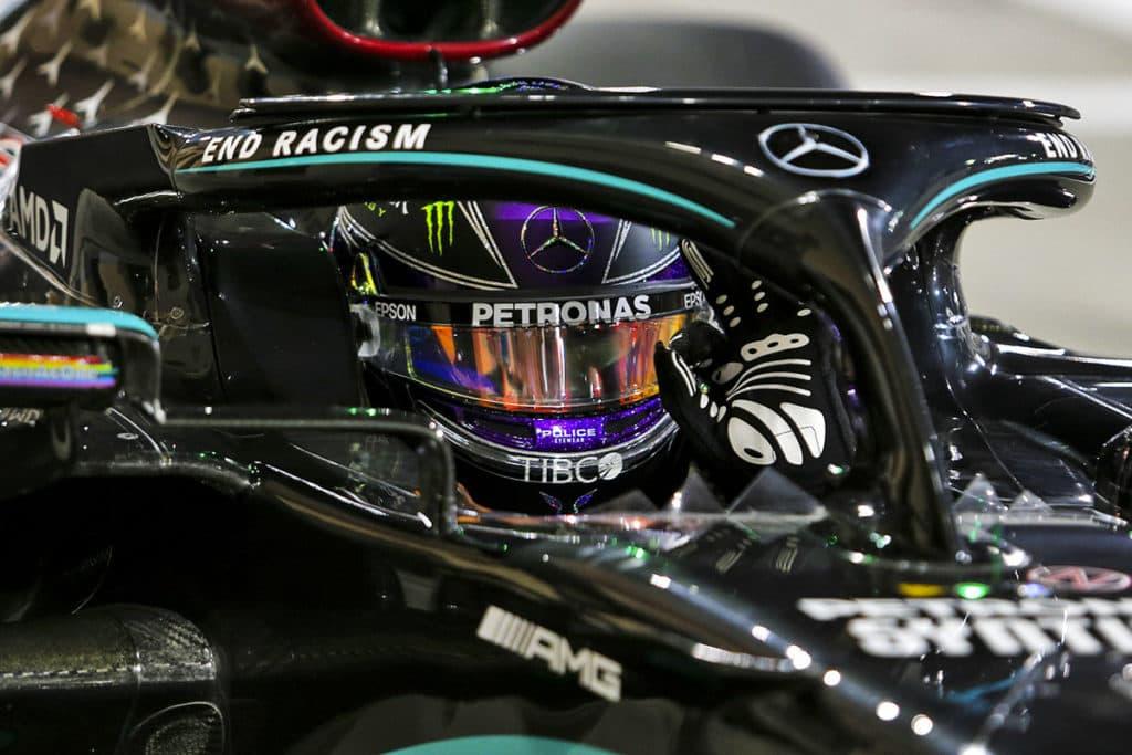 Lewis Hamilton Credit: LAT/Mercedes