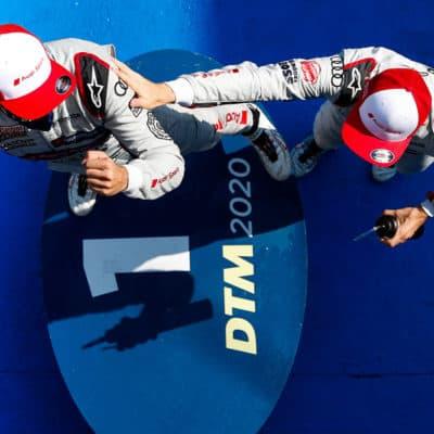 Nico Müller und René Rast Credit: Audi