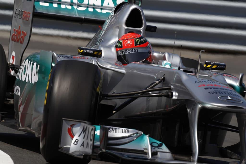 Michael Schumacher Credit: Mercedes