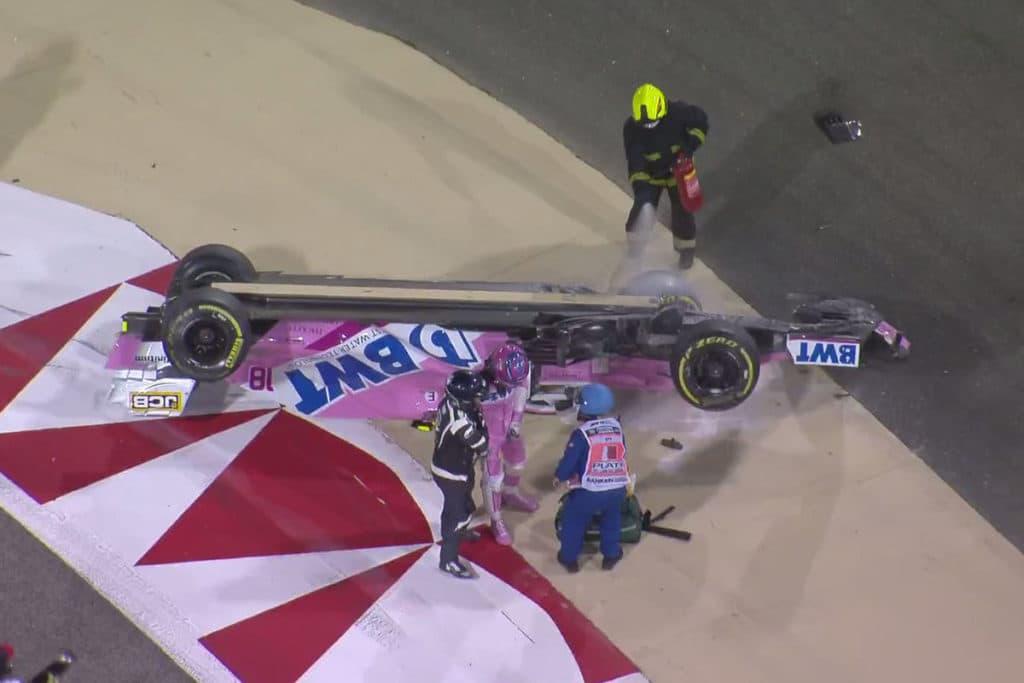 Lance Stroll Credit: F1 TV