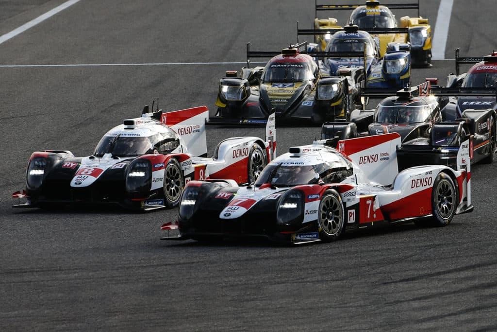 LMP1: Credit: Toyota