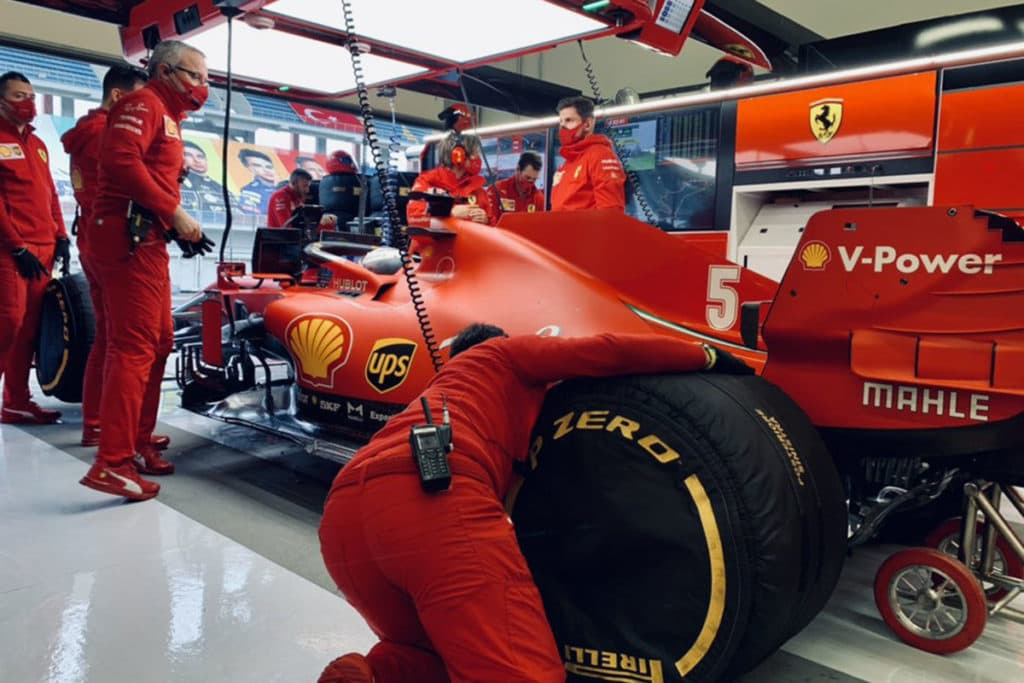 Vettel Türkei Quali