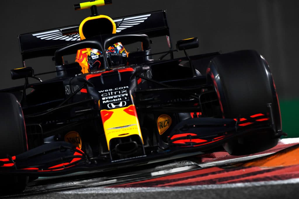 Max Verstappen Teamkollege Alex Albon Credit: Red Bull Content Pool