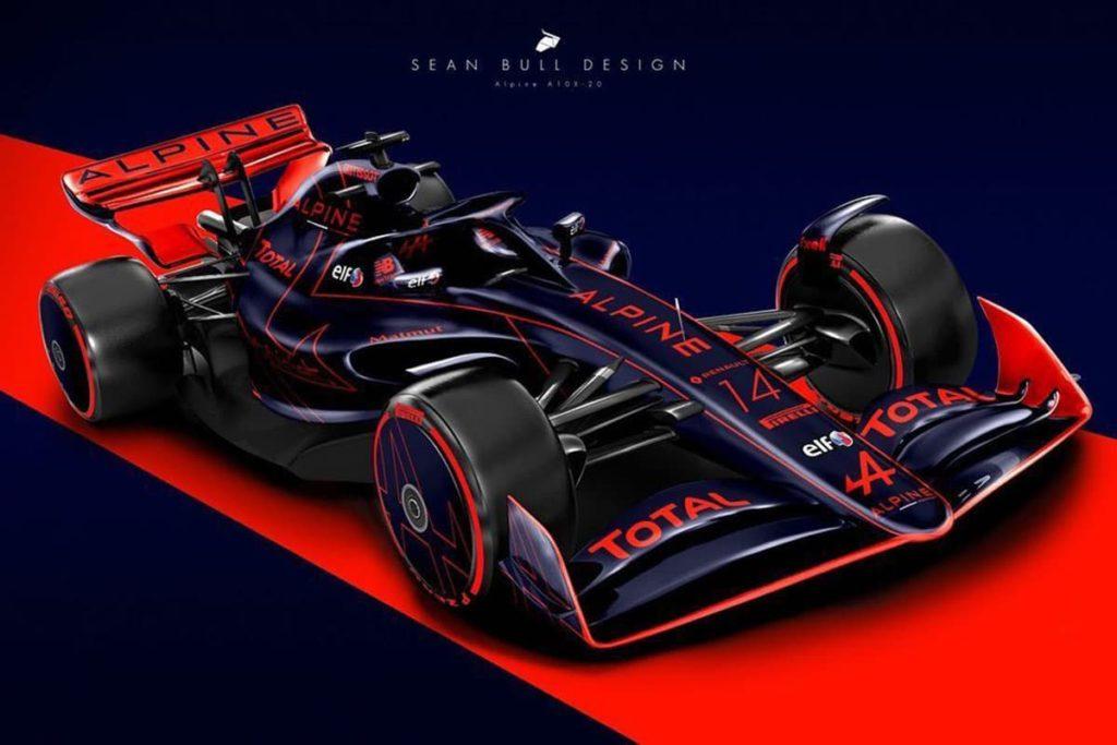 Alpine-F1-Concept. Credit: Sean Bull Design