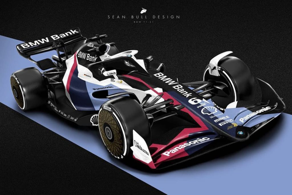 BMW-F1-Concept. Credit: Sean Bull Design