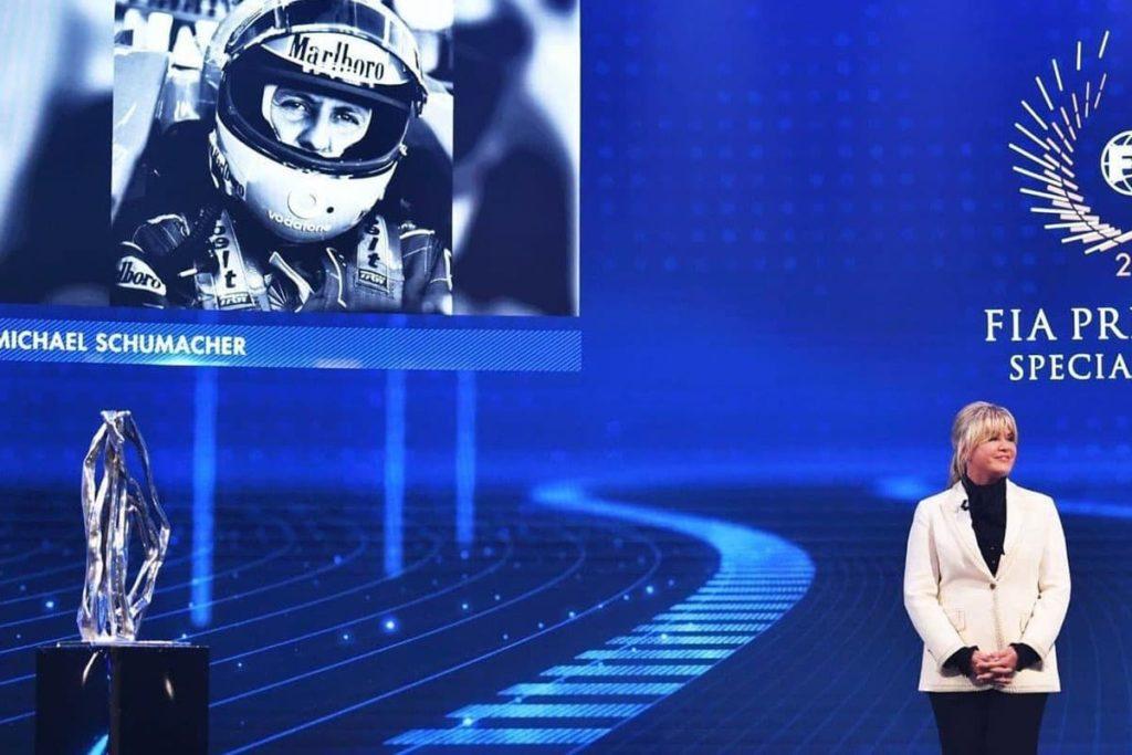 Corinna Schumacher bei der FIA Gala. Credit: FIA