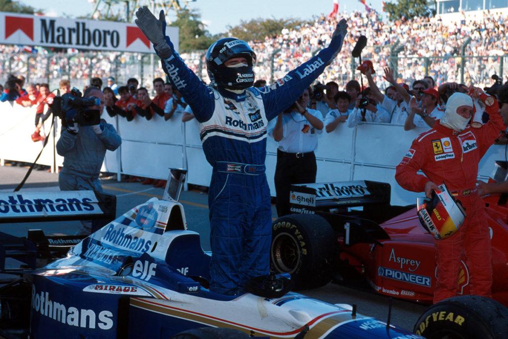 Damon Hill Credit: Williams