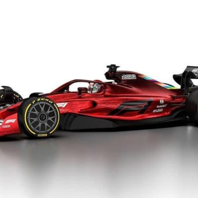 So sehen die neuen Formel-1-Autos 2022 aus; Credit: FIA/F1