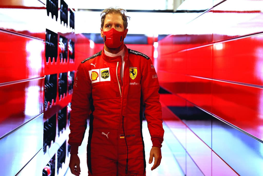 Sebastian Vettel Credit: @Scuderia Ferrari Press Office