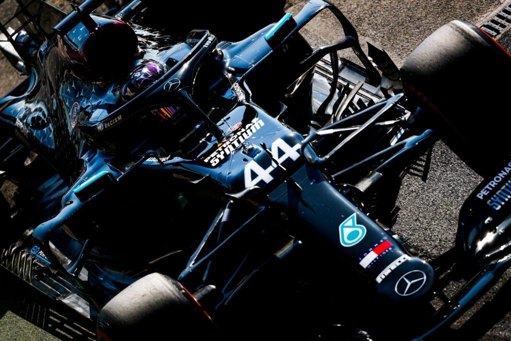Lewis Hamilton Mercedes 2020. Credit: Mercedes