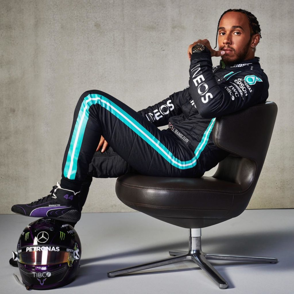 Lewis Hamilton, Mercedes. Credit: Mercedes