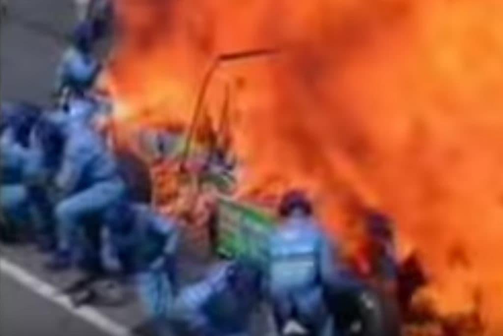 Jos Verstappens Unfall 1994 Credit: Youtube
