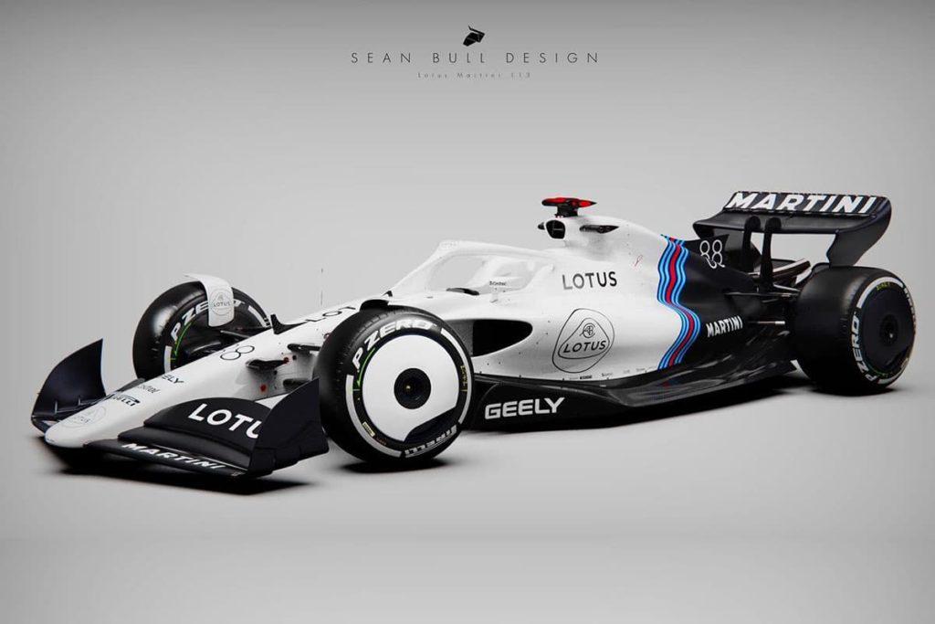 Lotus-F1-Concept. Credit: Sean Bull Design