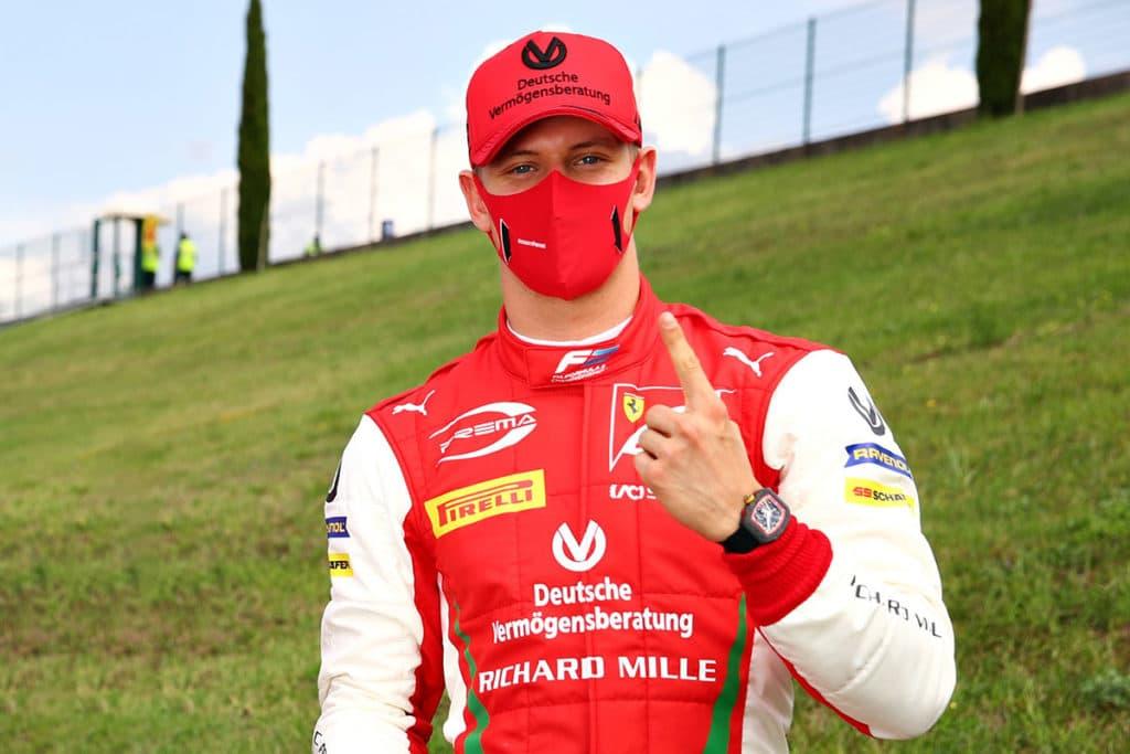 Mick Schumacher Credit: Formula 2