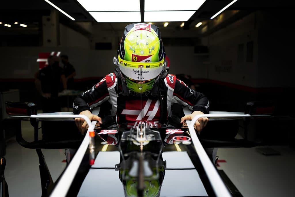 Mick Schumacher Credit: LAT / Haas