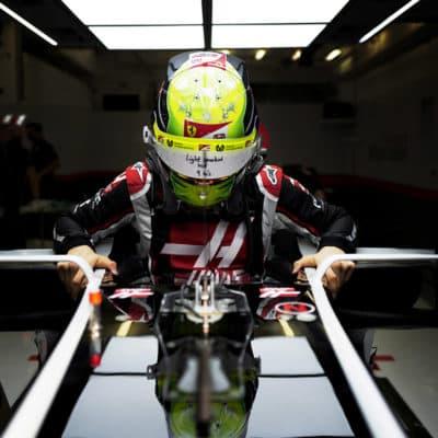 Mick Schumacher Haas. Credit: Haas