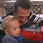 Mick Schumacher mit seinem Vater Michael Credit: MickSchumacher/Instagram