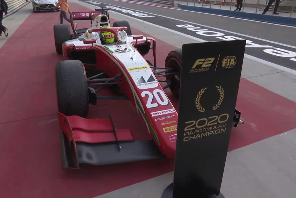 Mick Schumacher Credit: Formel 2
