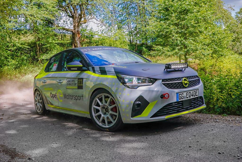 Der Opel Corsa-e Rallye