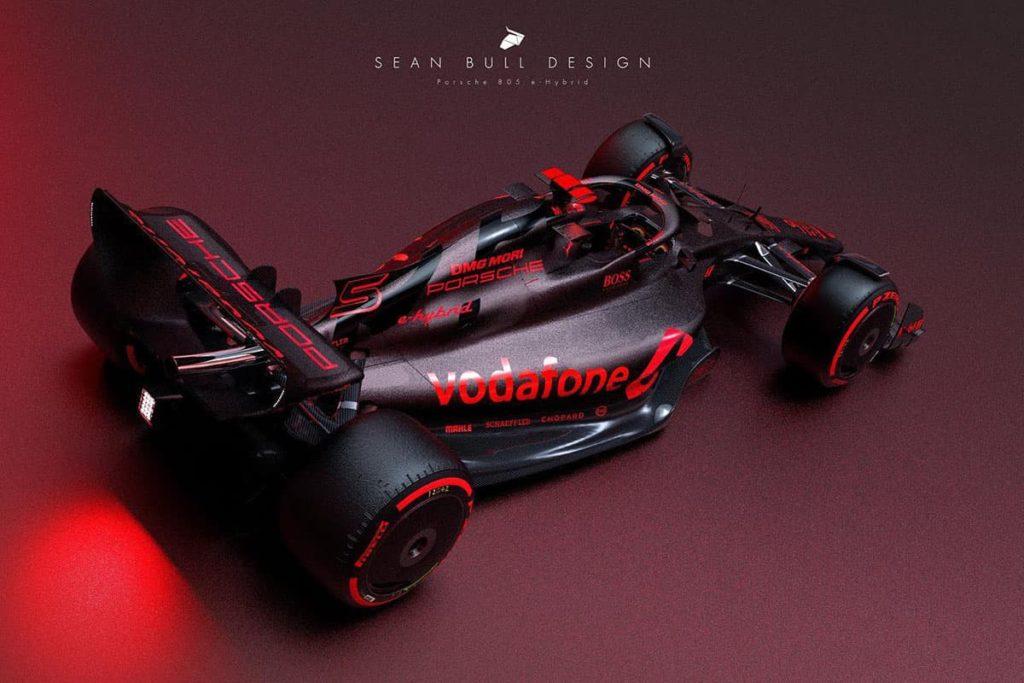 Porsche-F1-Concept. Credit: Sean Bull Design