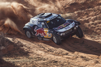 Vorschau Rallye Dakar 2021 X-Raid Mini. Credit: X Raid