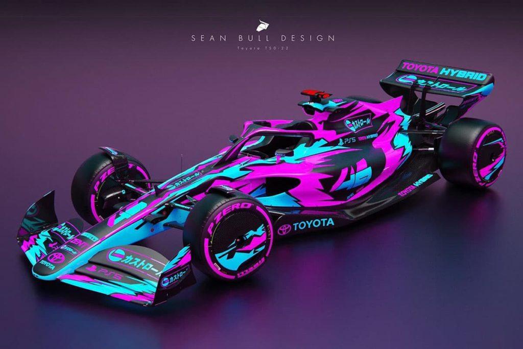 Toyota-F1-Concept. Credit: Sean Bull Design