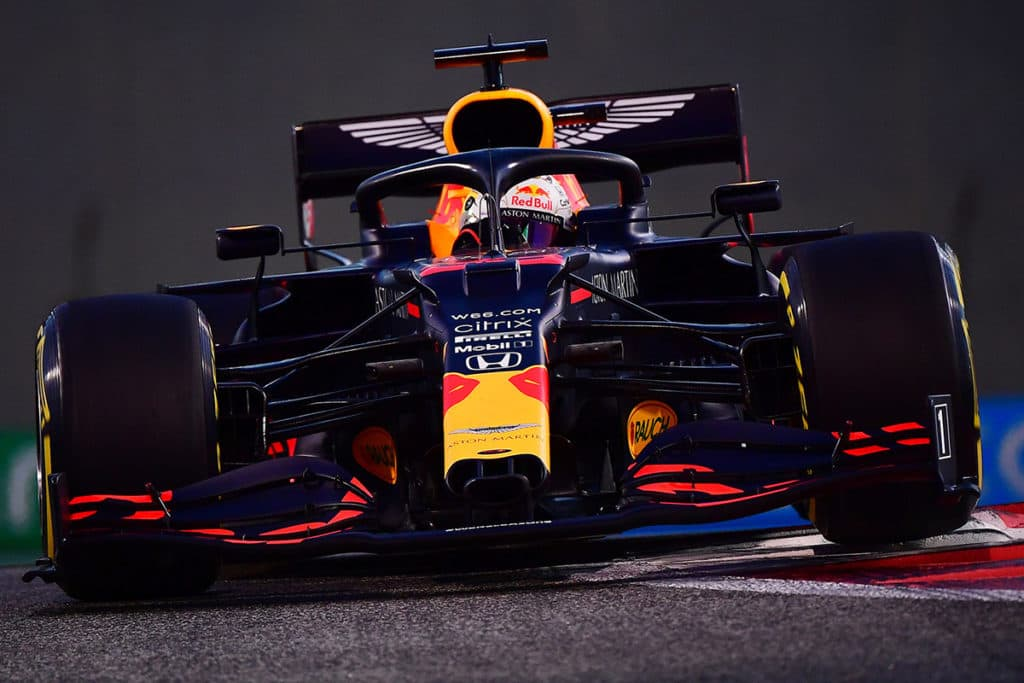 Max Verstappen Credit: Red Bull