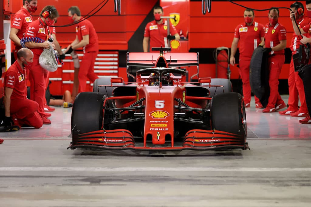 Sebastian Vettel Credit: @Scuderia Ferrari Press Office