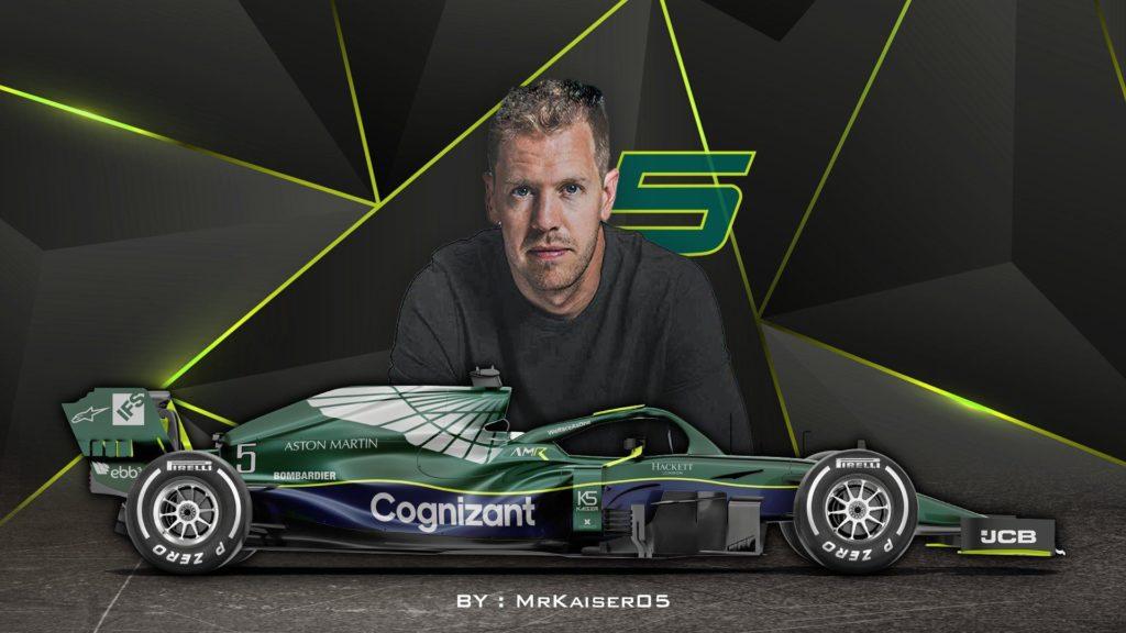 Sebastian Vettel, Aston Martin. Credit: MrKaiser05