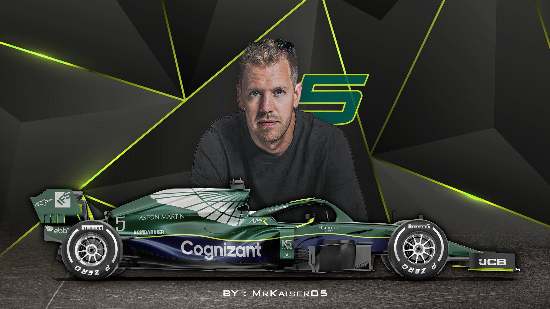 Formula 1 Vettel Starts New Job At Aston Martin With Seat Fit And Sim F1 Insider Com