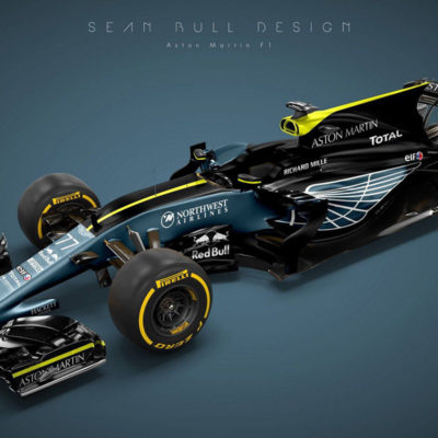 Aston Martin F1 2020 Design. Credit: Sean Bull Design