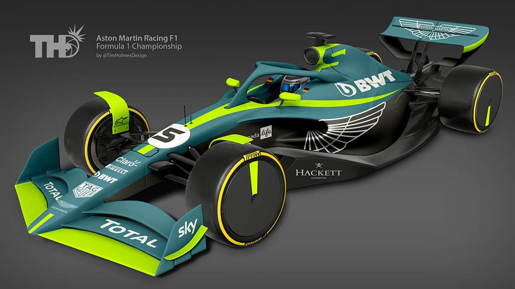 Aston Martin F1 2020 Design. Credit: Tim Holmes