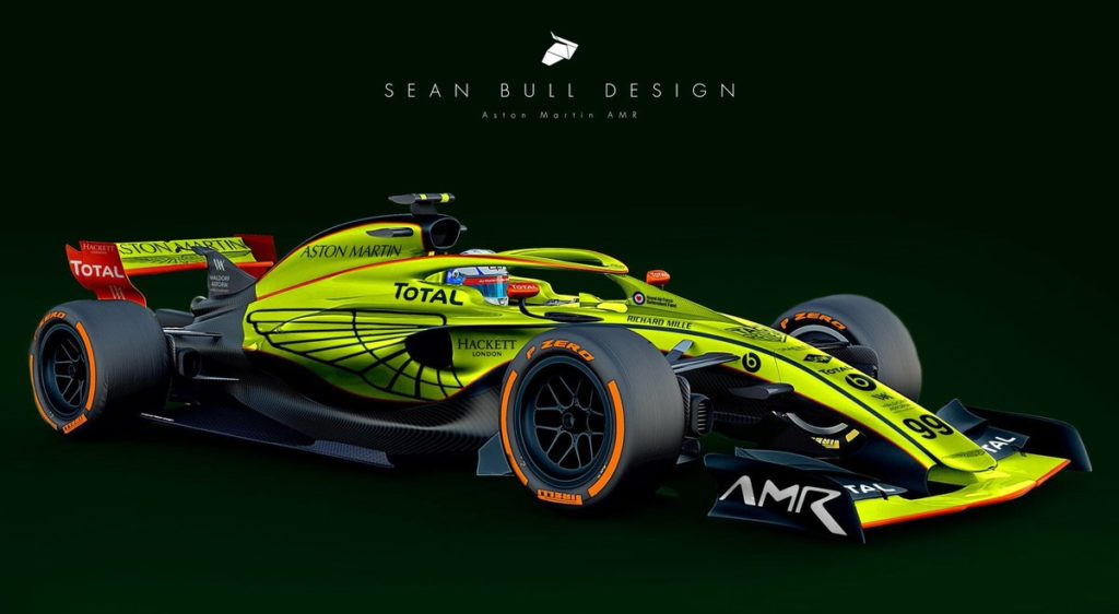 Aston Martin F1 2020 Design. Credit: Sean Bull Design