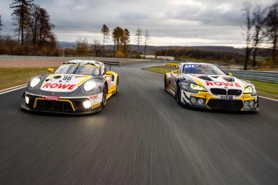 Wir testen die Sieger-GT3 von Porsche und BMW Credit: ROWE