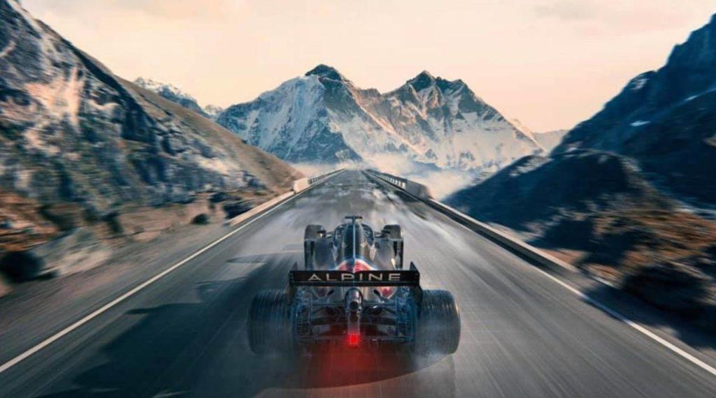 Alpine startet 2021 in der Formel 1 durch Credit: Alpine