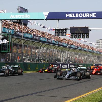 Wird der Australien Grand Prix wieder abgesagt? Credit: LAT/Mercedes