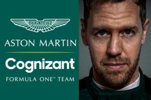 Aston Martin hat mit Cognizant einen neuen Sponsor präsentiert. Credit: Aston Martin F1/Twitter