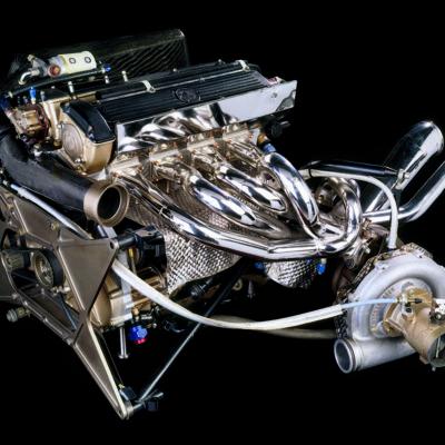 Formel 1 BMW M12/13 Turbomotor 1983 Credit: BMW