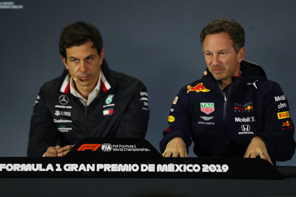 Toto Wolff und Christian Horner Credit: Red Bull Content Pool