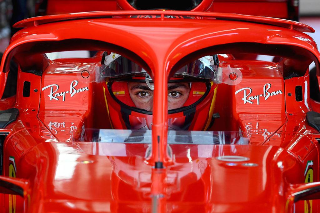 Carlos Sainz Credit: Ferrari