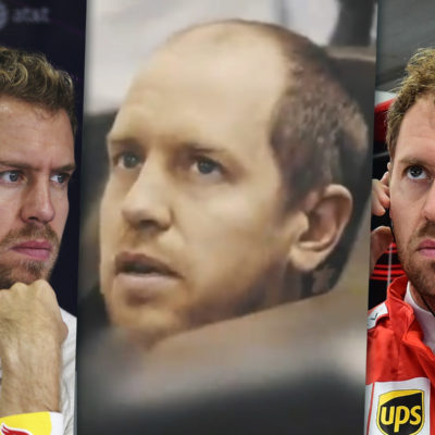 Sebastian Vettel im Wandel der Jahre