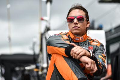 Simona de Silvestro Credit: IndyCar