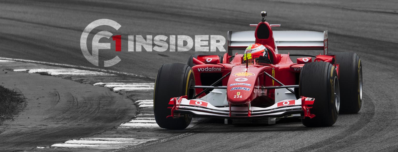 F1 Insider Header