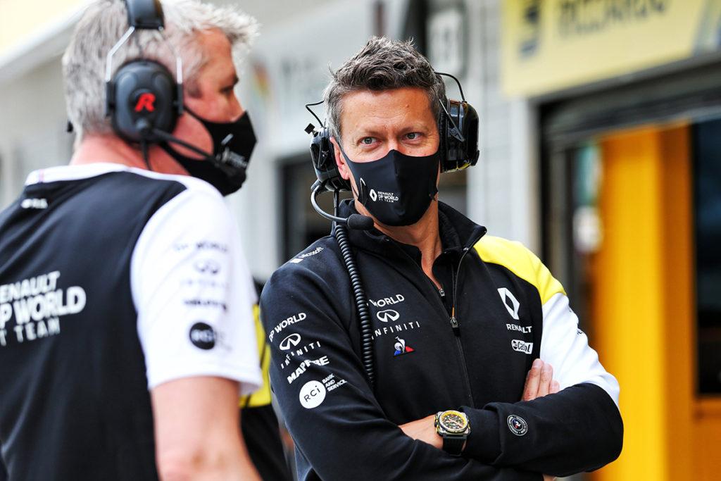 Marcin Budkowski Credit: Renault Formel 1
