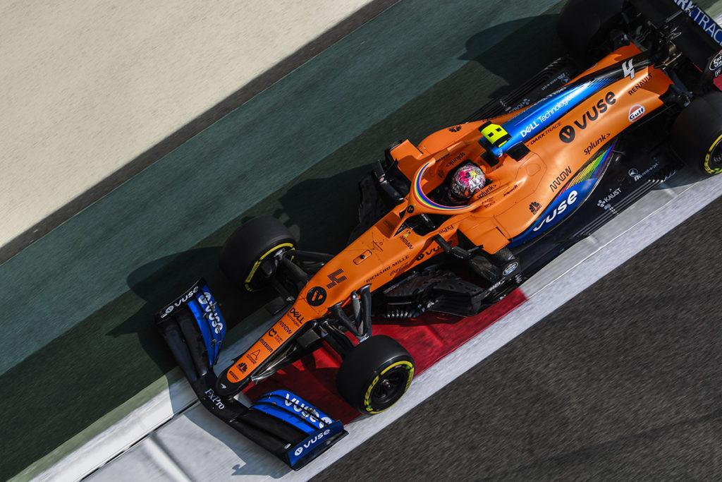 Lando Norris Credit: McLaren
