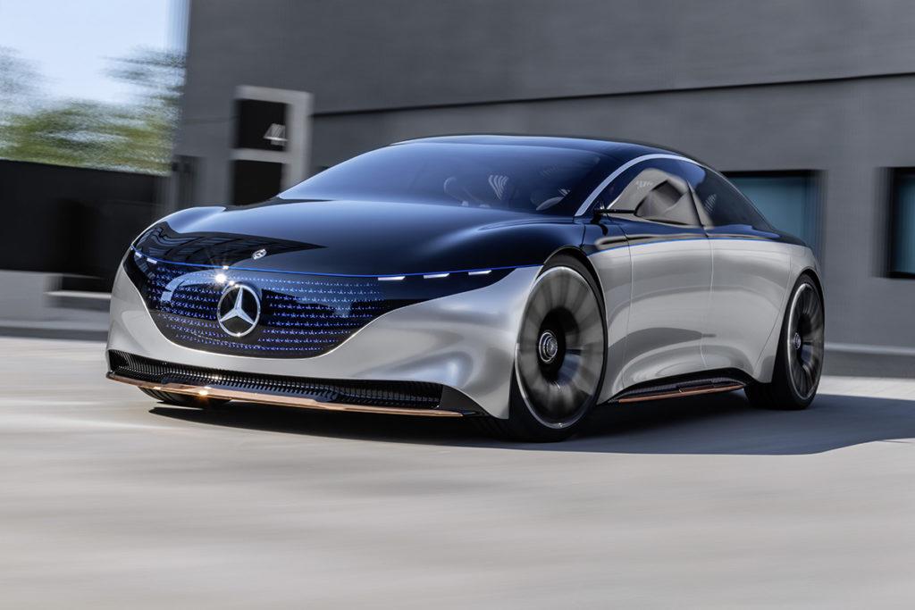Der Mercedes-Benz VISION EQS
