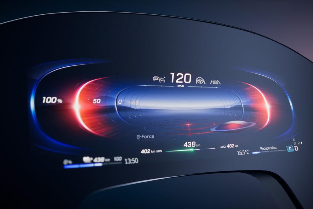 Mercedes-EQ. MBUX Hyperscreen